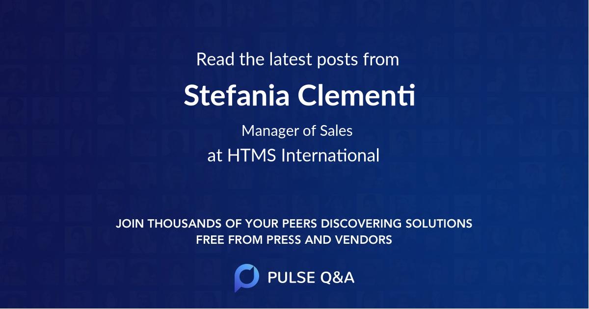 Stefania Clementi