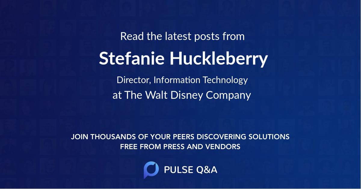 Stefanie Huckleberry