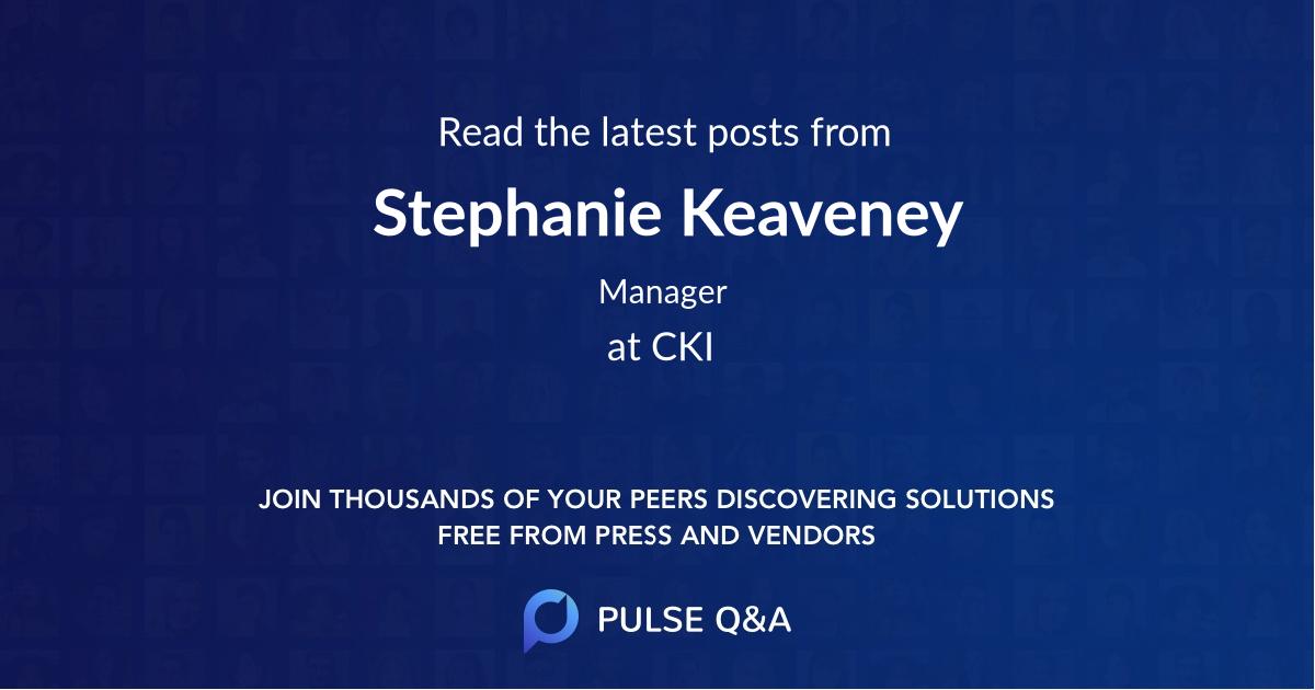 Stephanie Keaveney