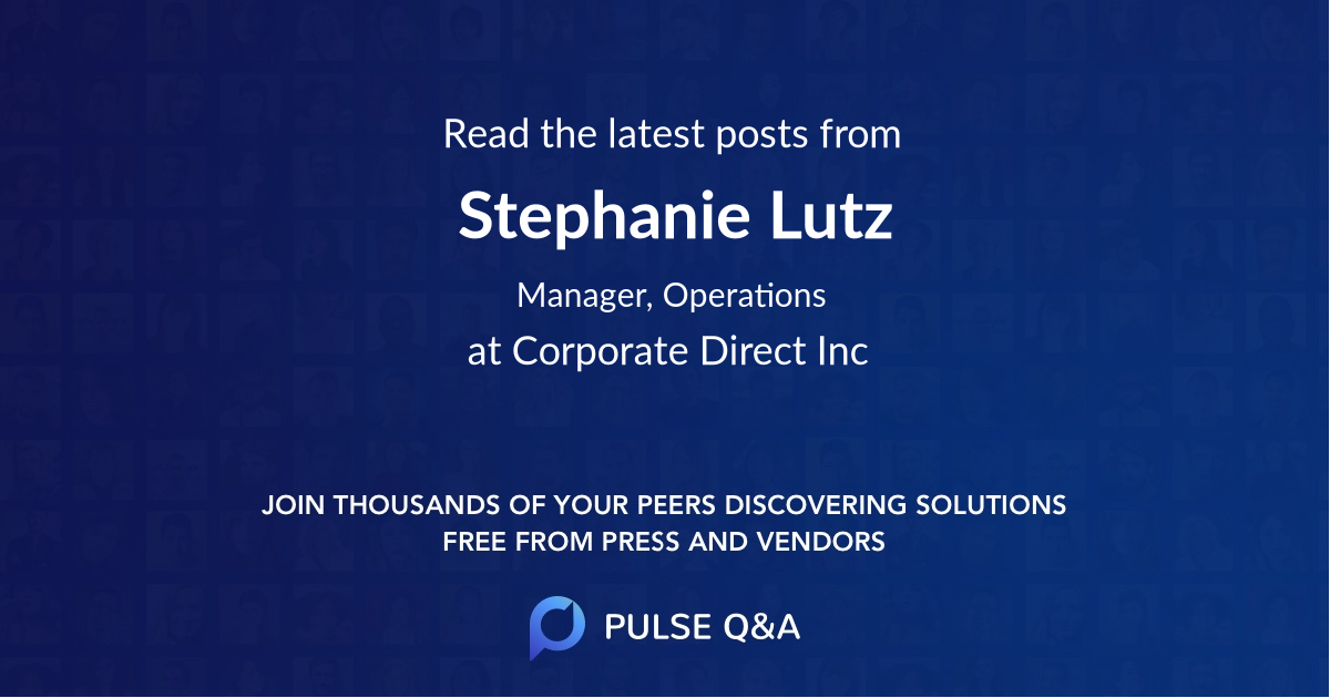 Stephanie Lutz