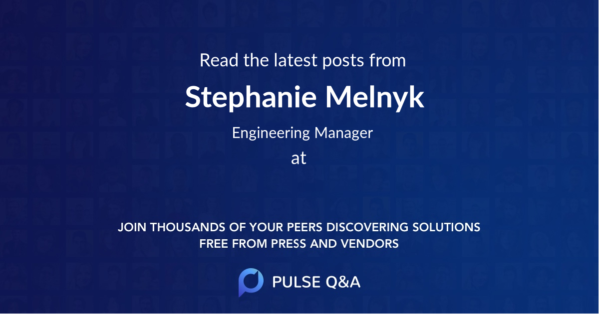 Stephanie Melnyk