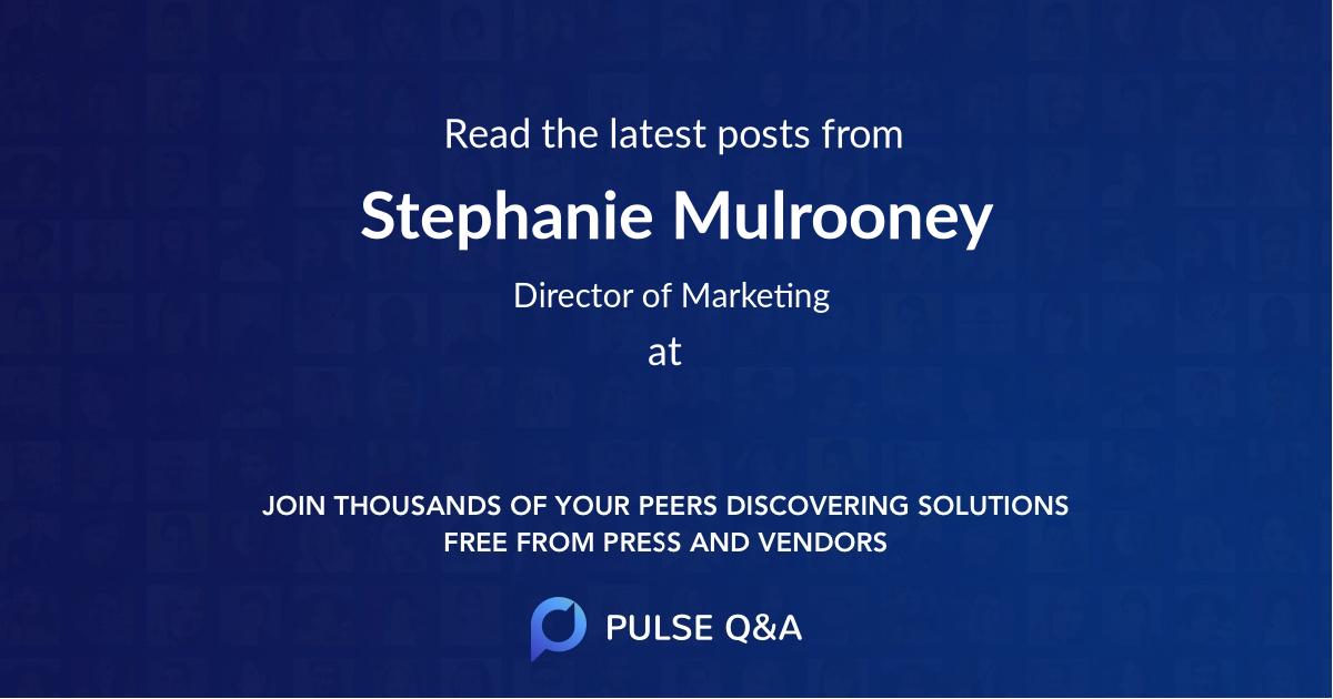 Stephanie Mulrooney