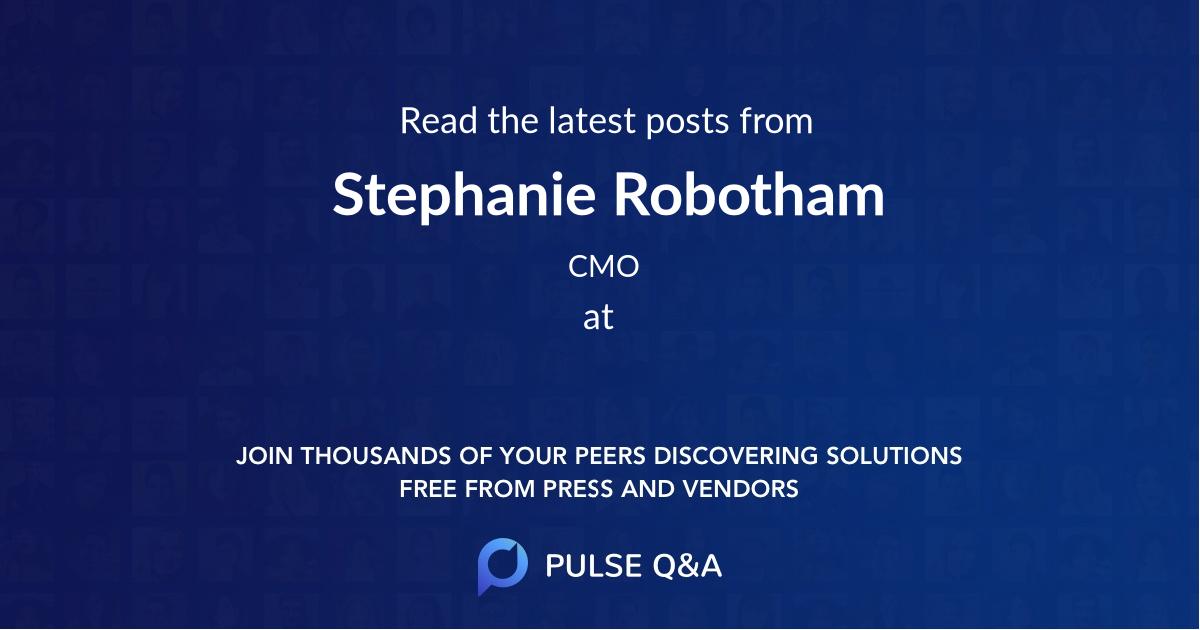 Stephanie Robotham