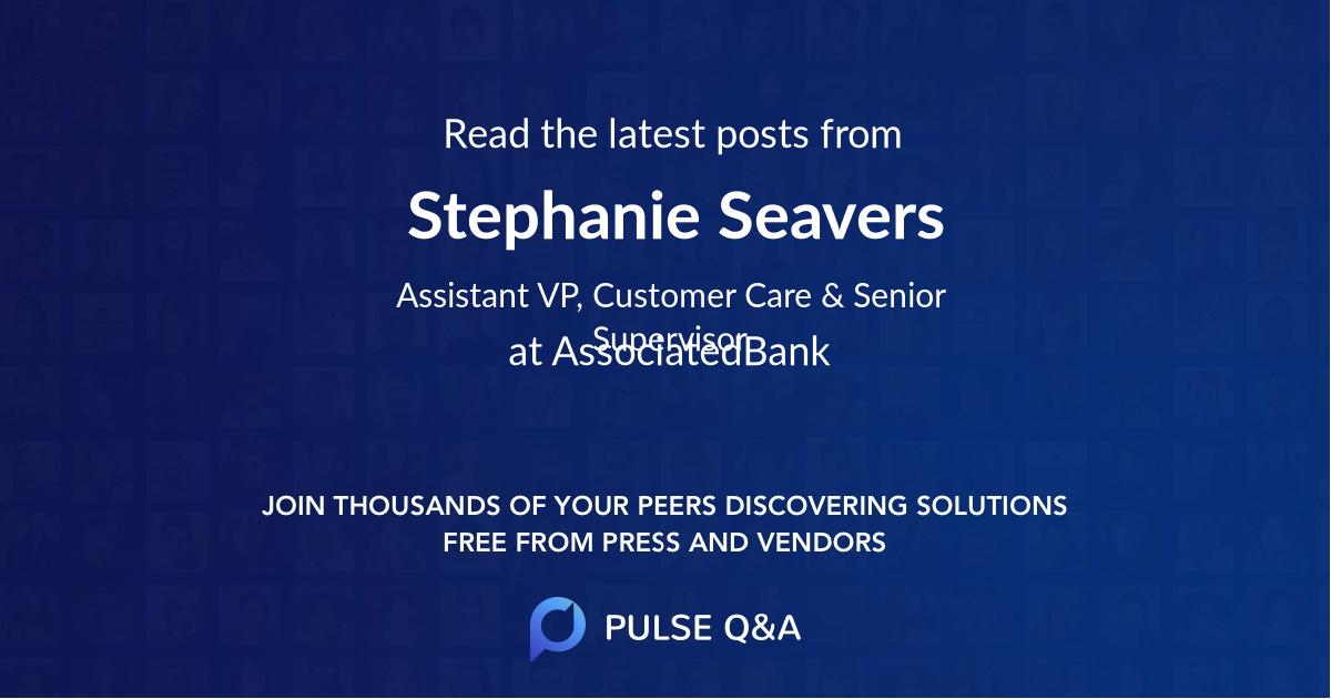 Stephanie Seavers
