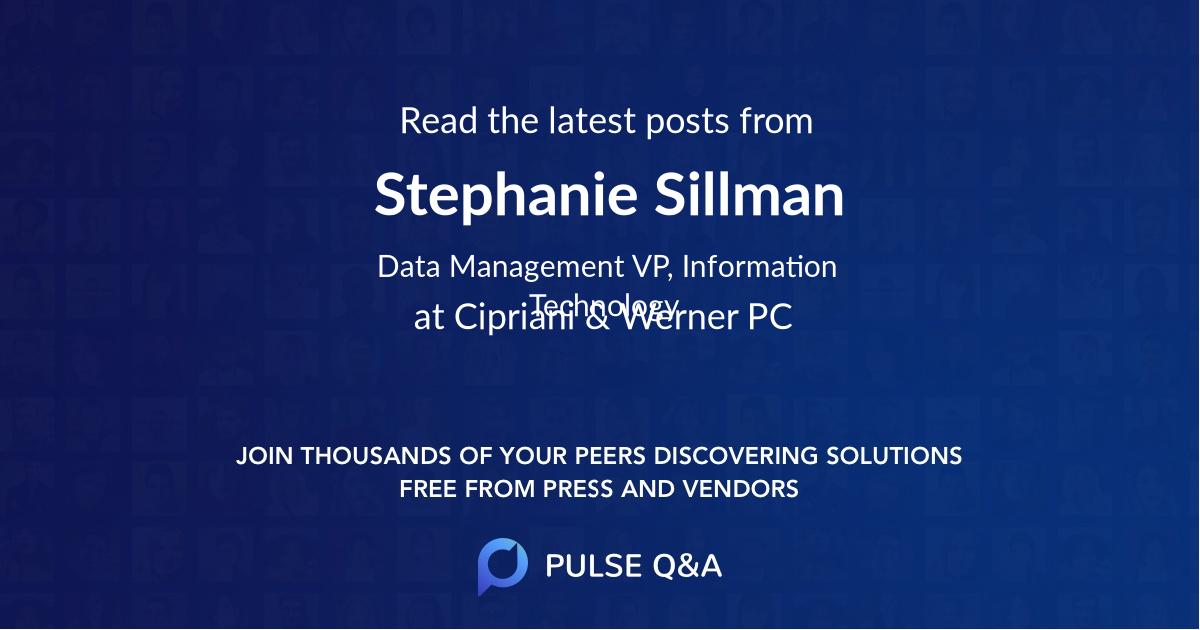 Stephanie Sillman