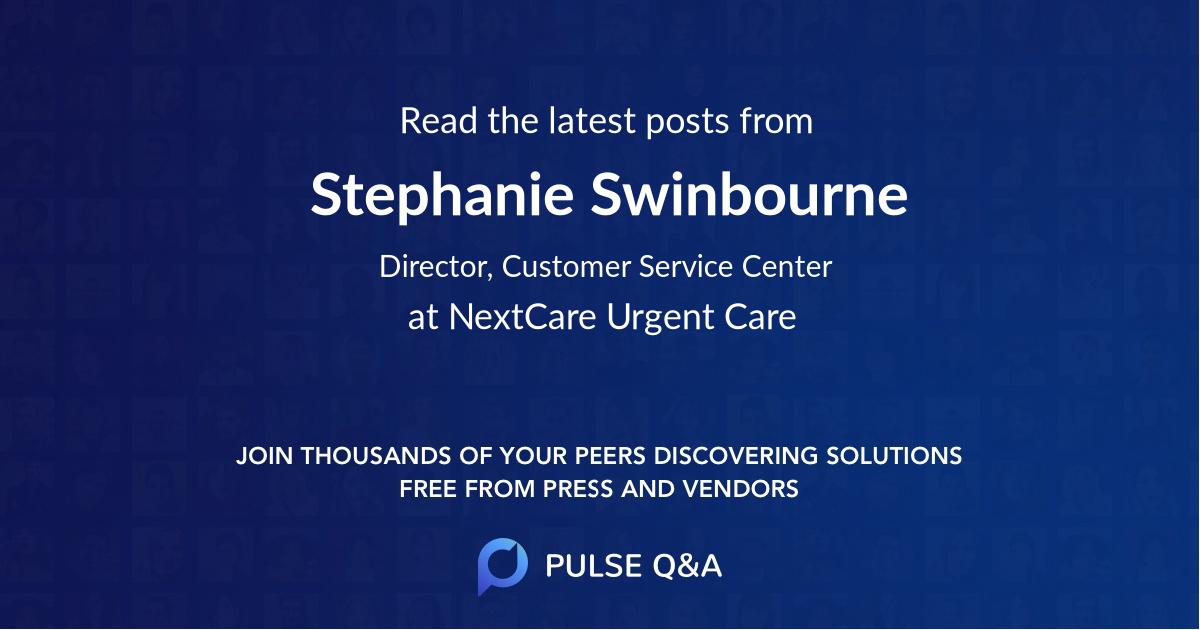 Stephanie Swinbourne