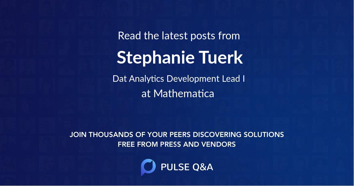 Stephanie Tuerk