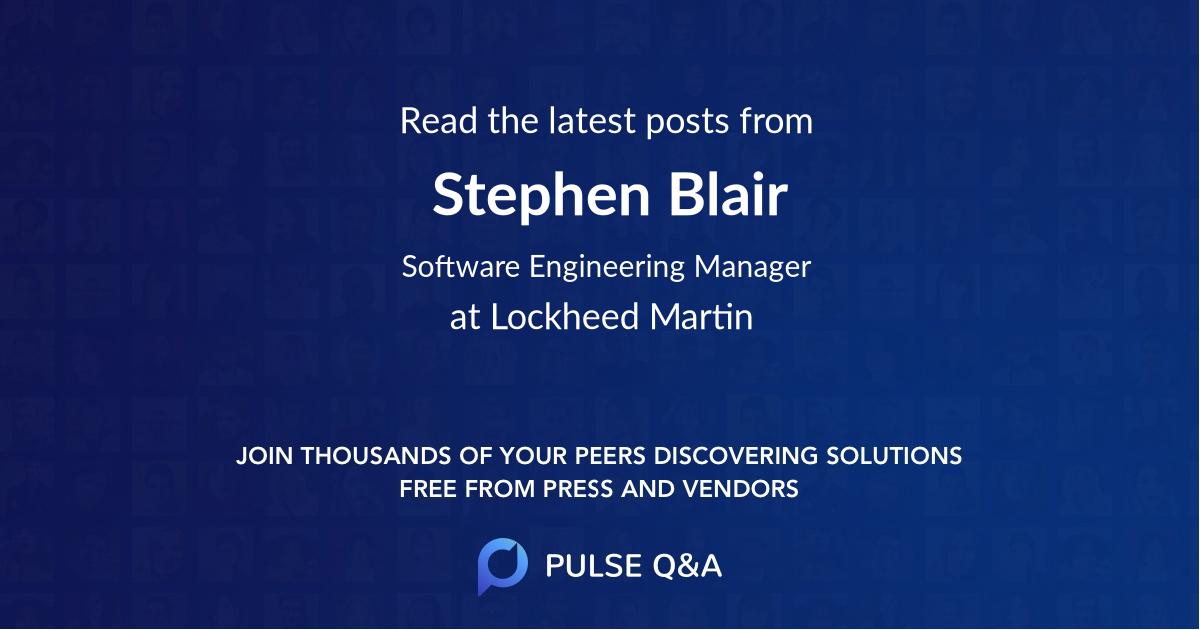 Stephen Blair