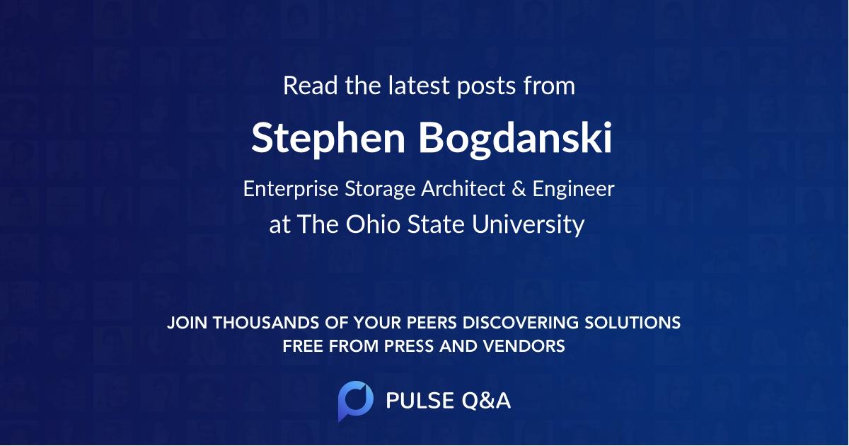 Stephen Bogdanski