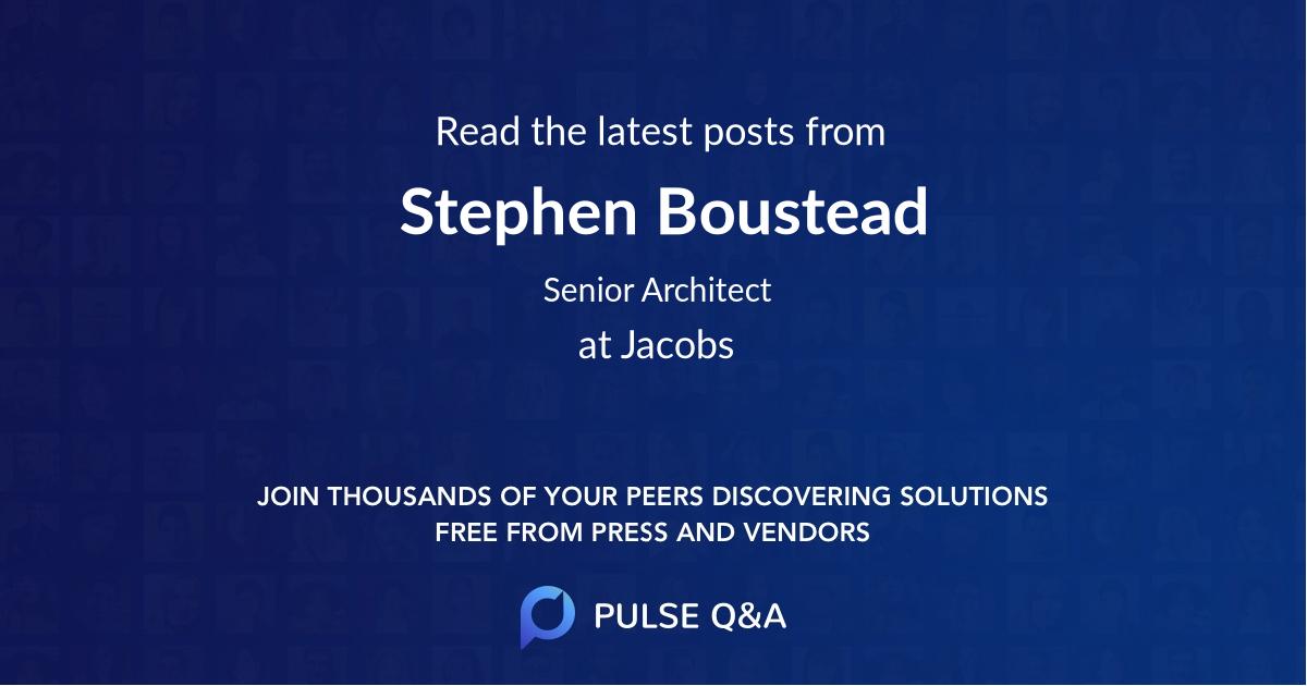 Stephen Boustead
