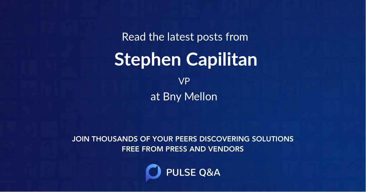 Stephen Capilitan