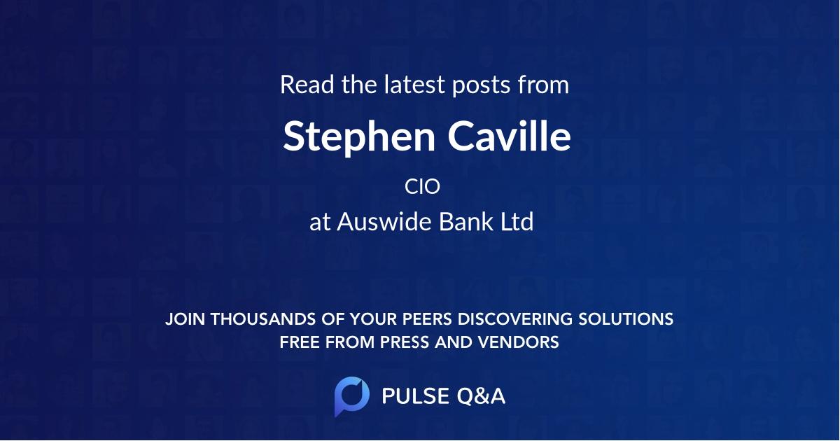 Stephen Caville