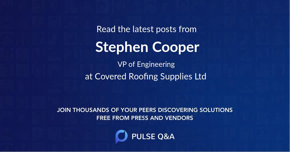 Stephen Cooper