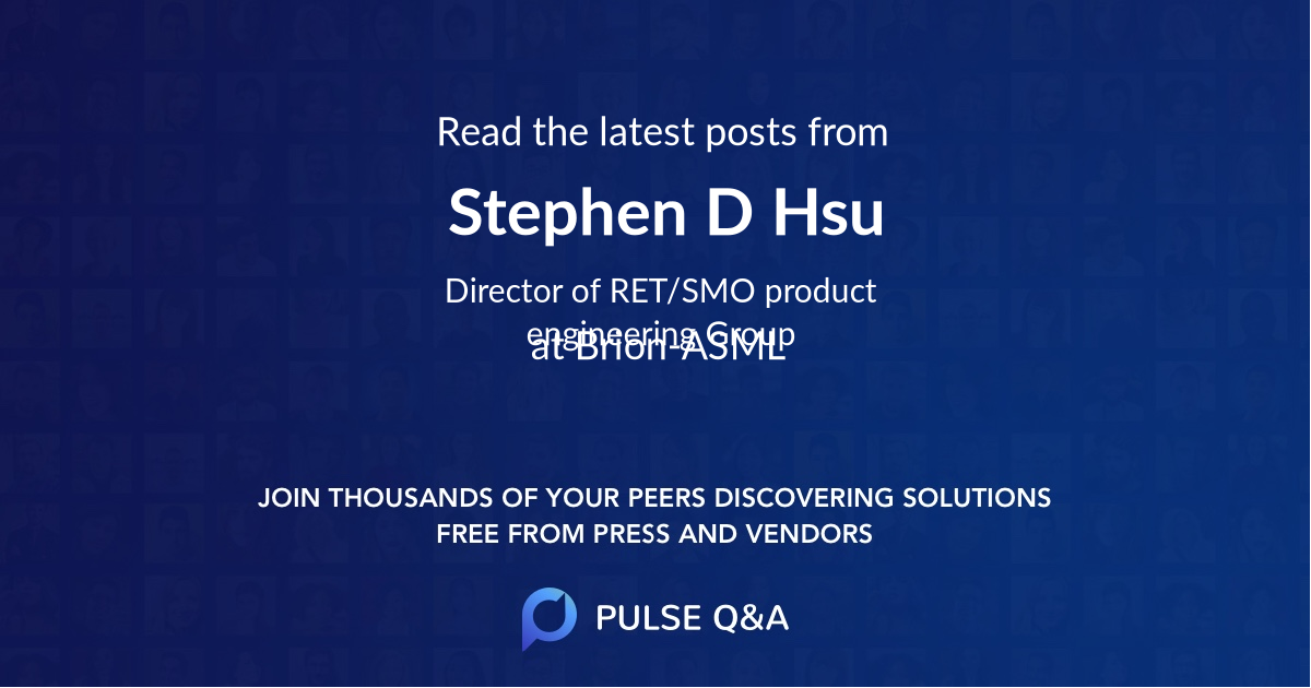 Stephen D. Hsu