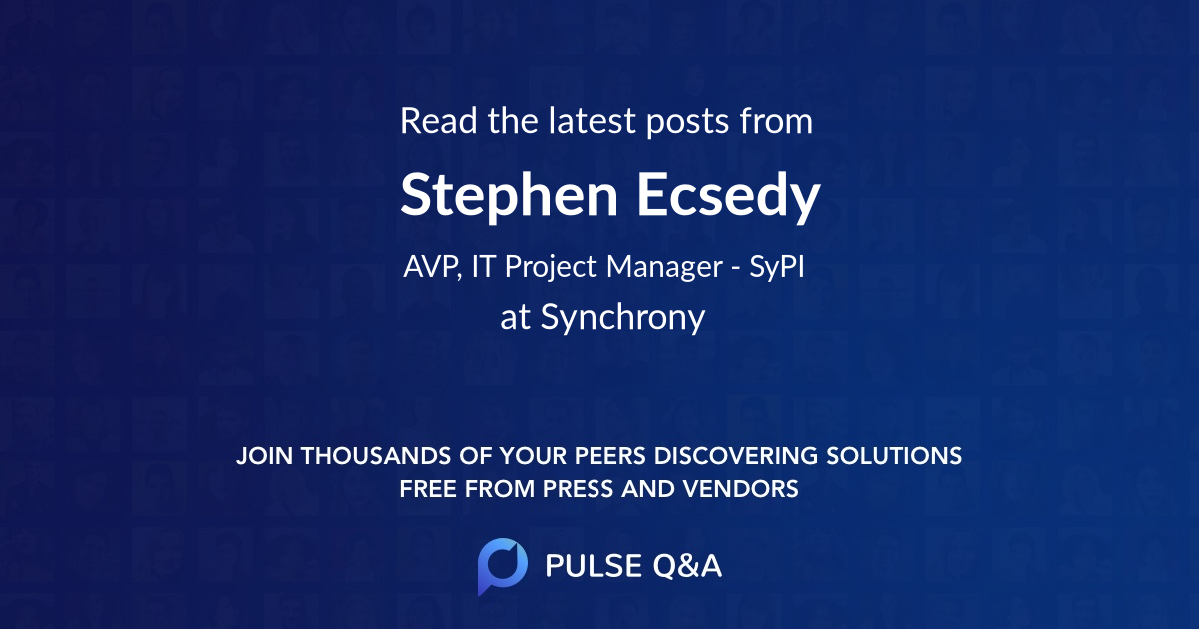 Stephen Ecsedy