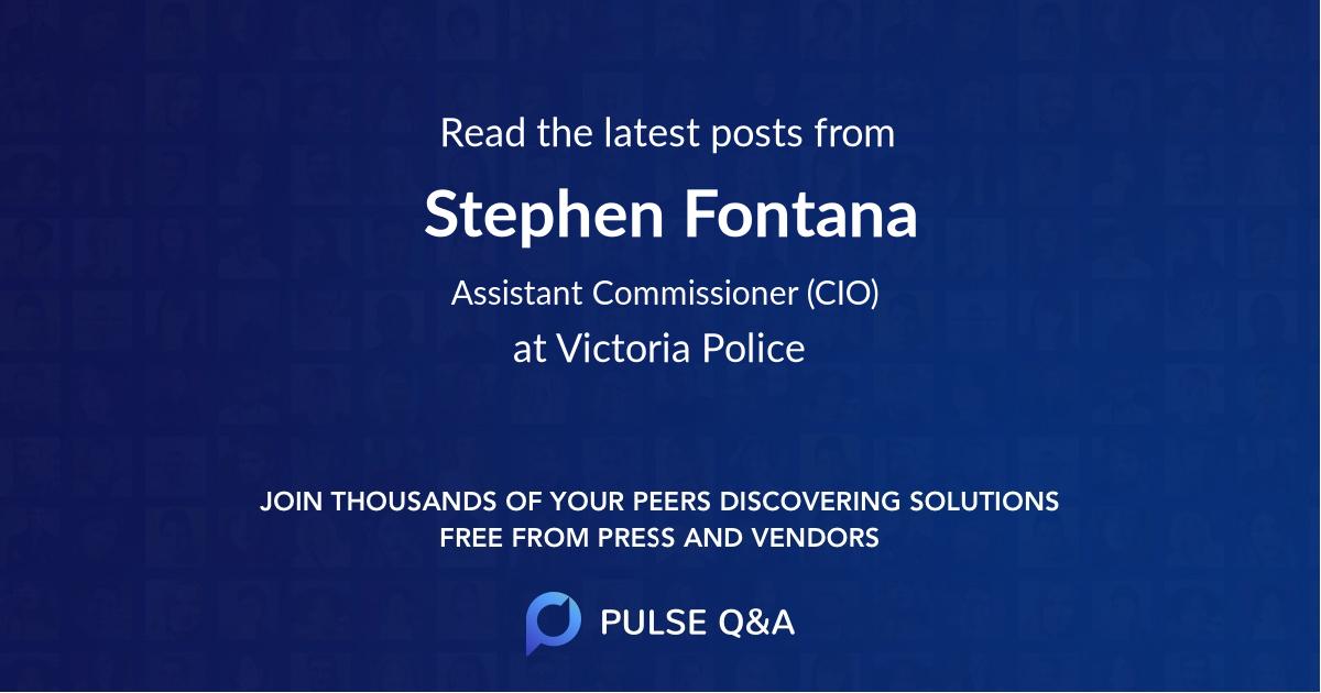 Stephen Fontana