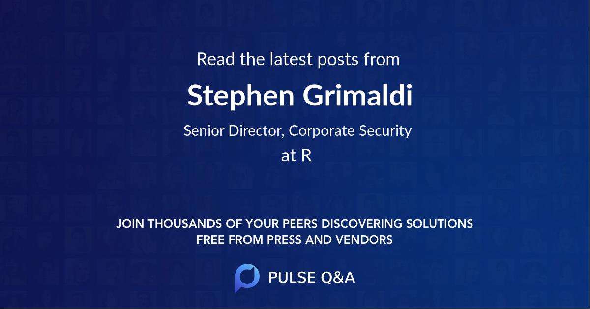 Stephen Grimaldi