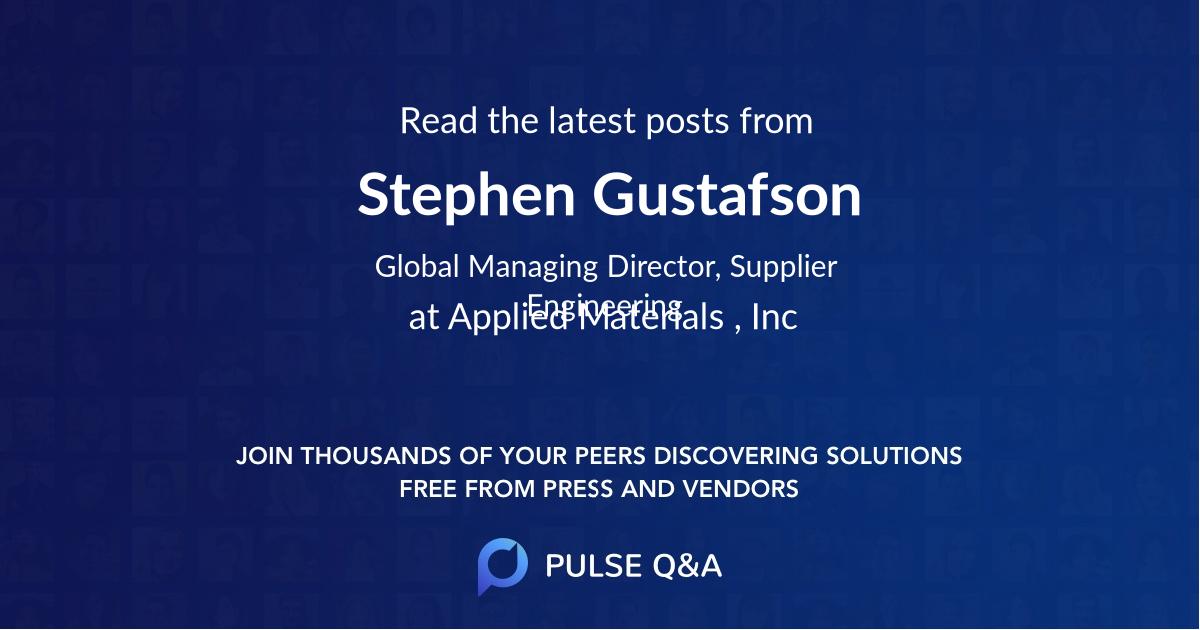 Stephen Gustafson