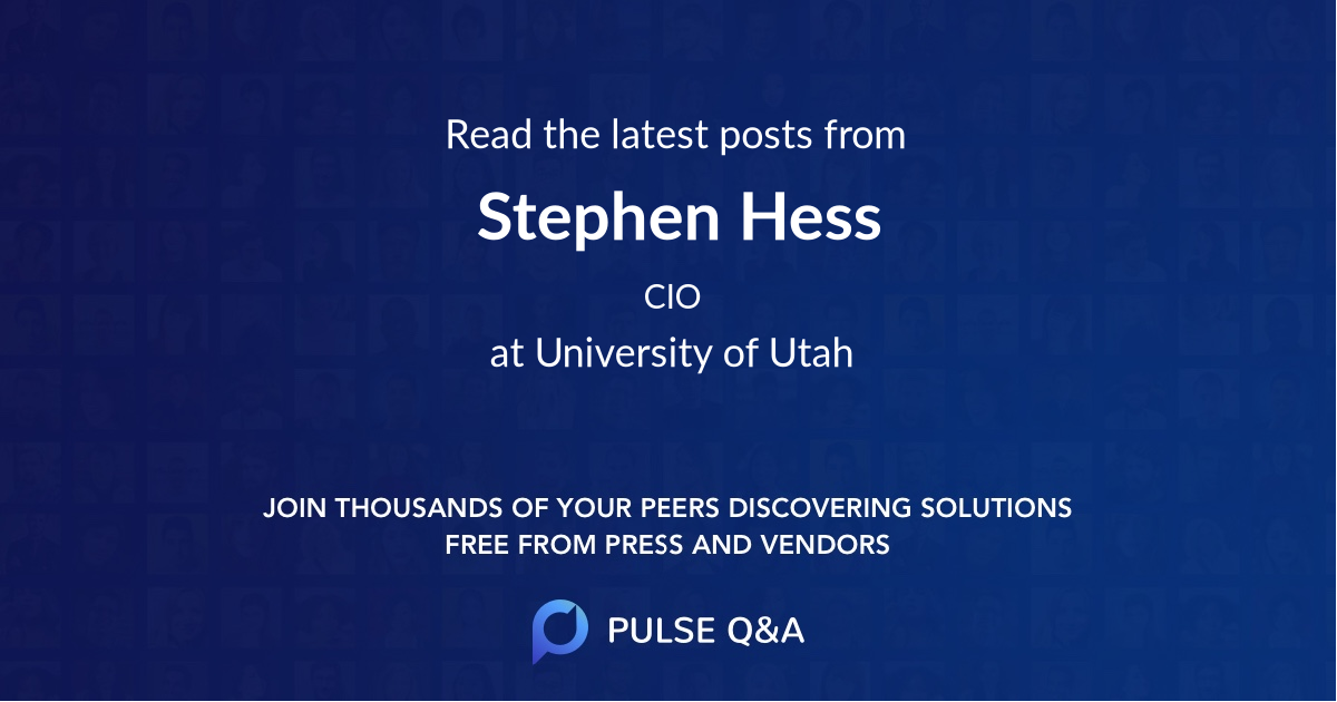 Stephen Hess