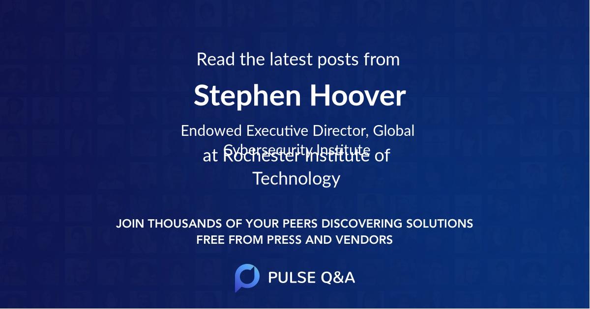 Stephen Hoover