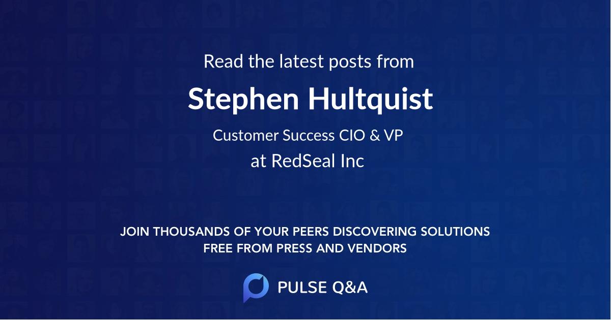Stephen Hultquist