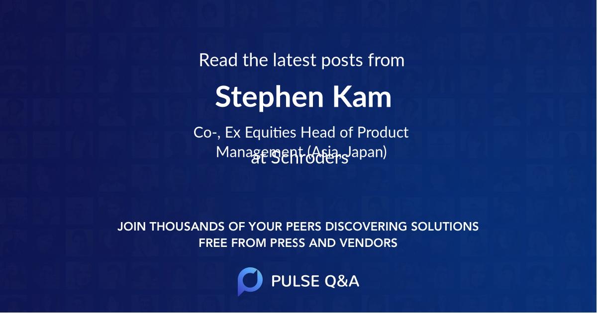 Stephen Kam