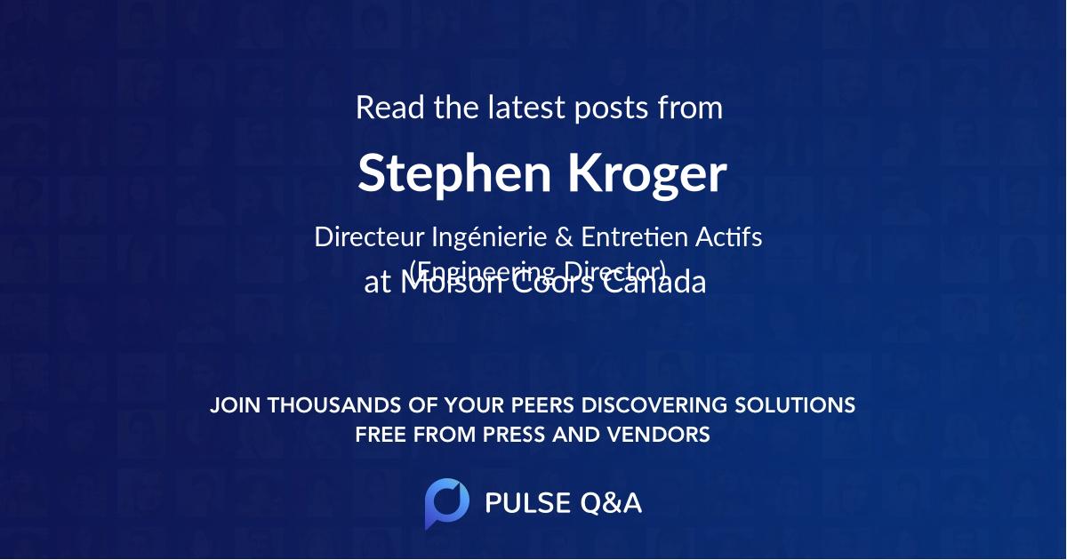 Stephen Kroger