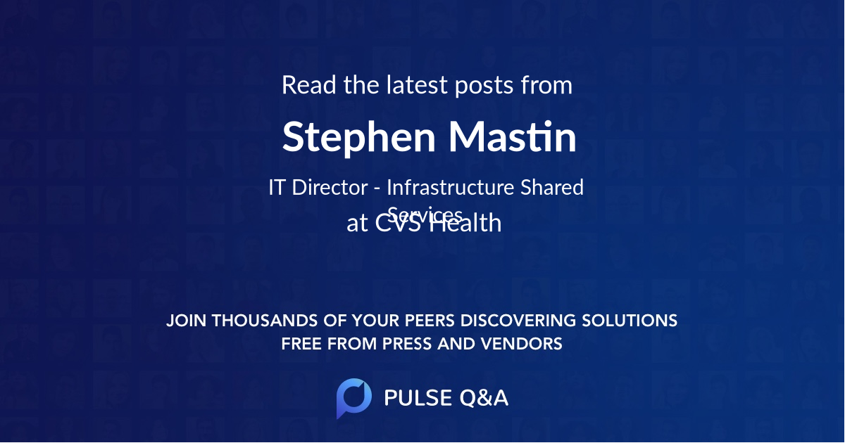 Stephen Mastin