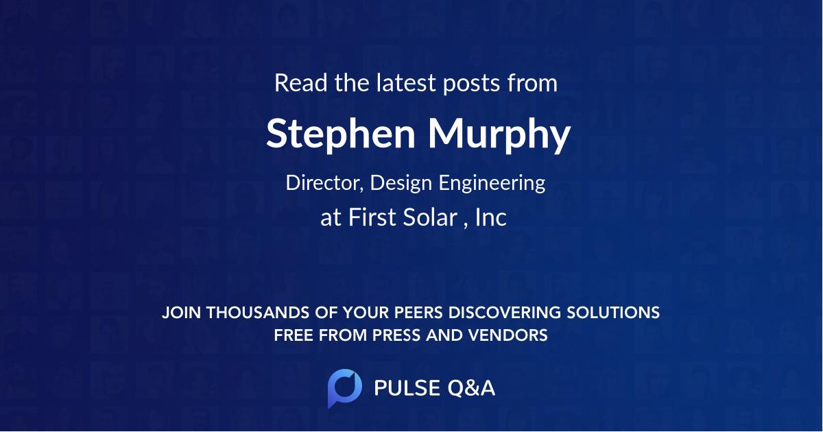 Stephen Murphy