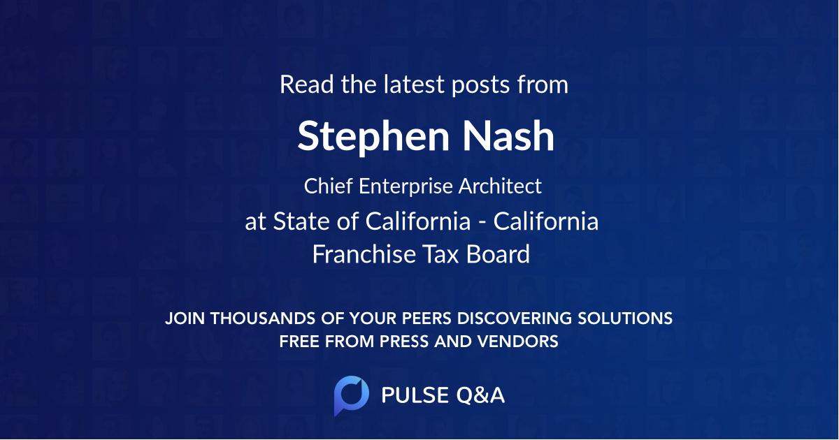 Stephen Nash
