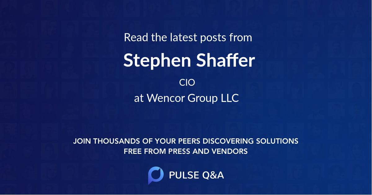Stephen Shaffer