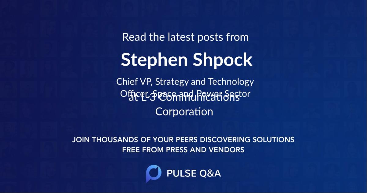 Stephen Shpock