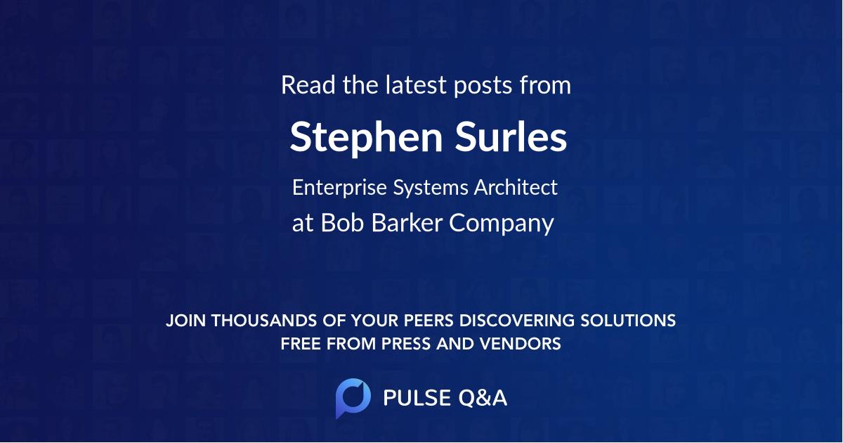 Stephen Surles