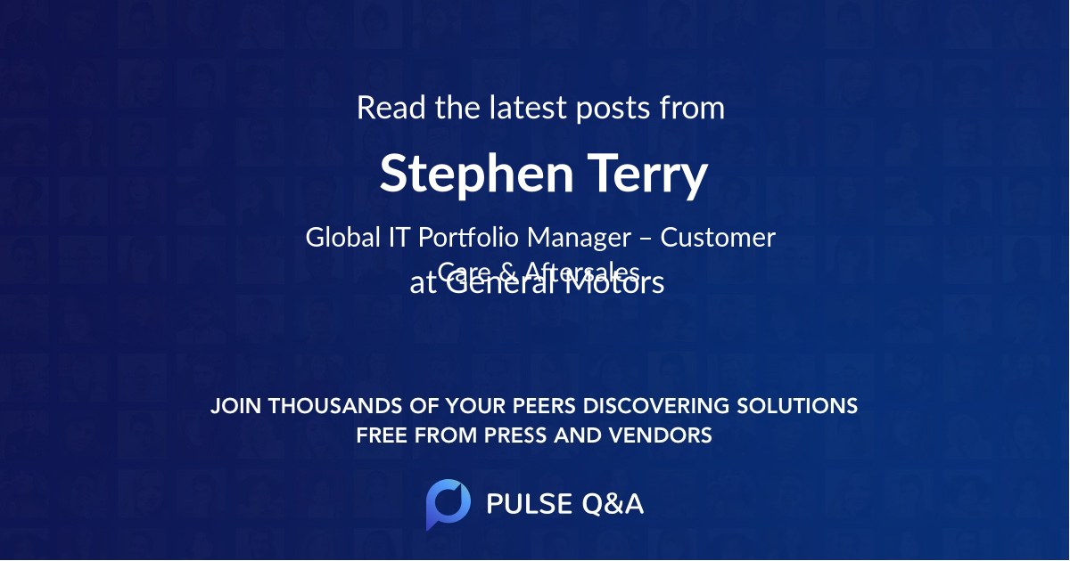 Stephen Terry