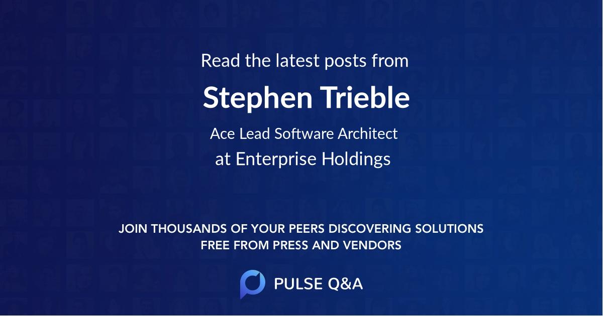 Stephen Trieble