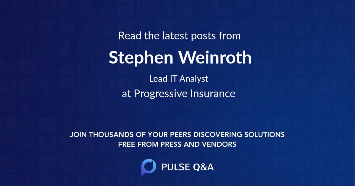 Stephen Weinroth