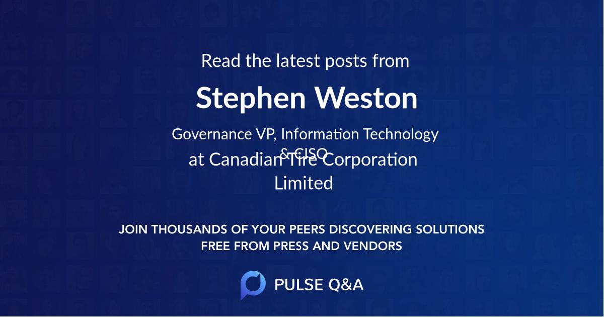 Stephen Weston