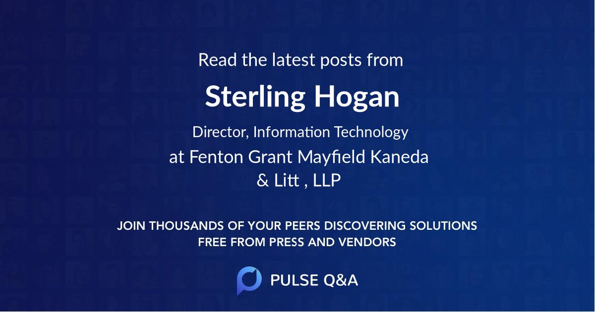 Sterling Hogan
