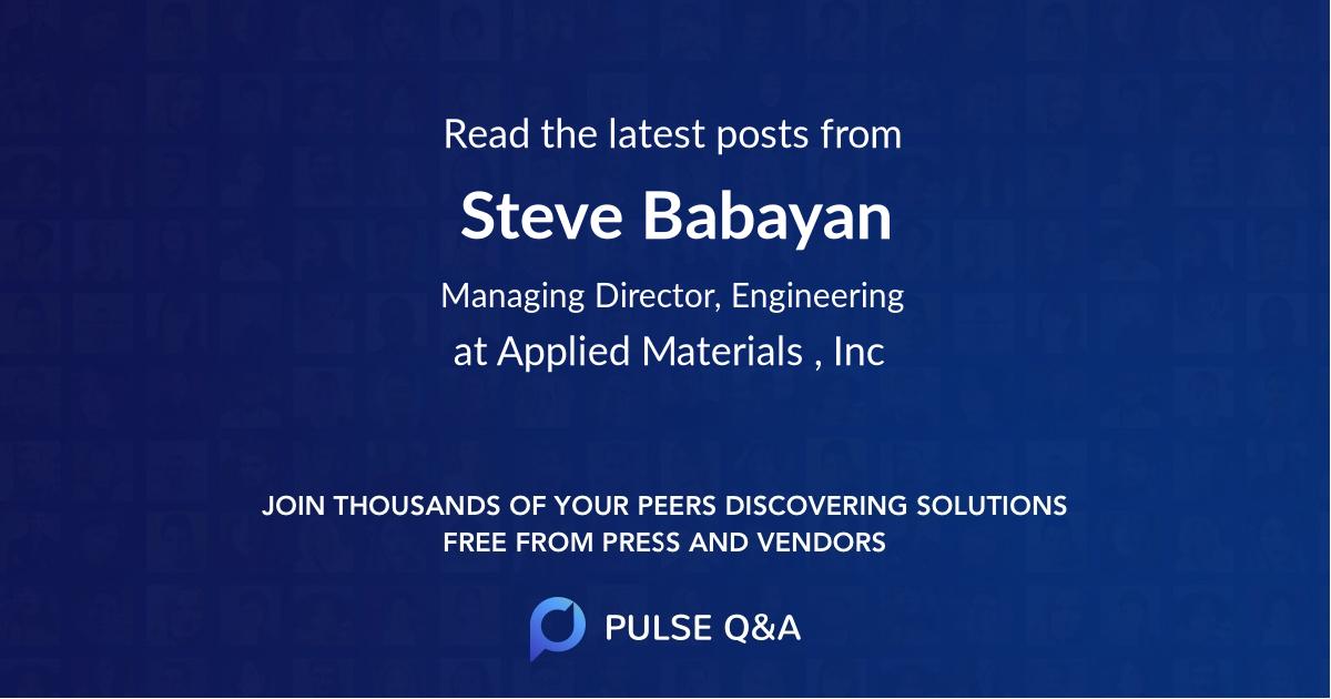 Steve Babayan