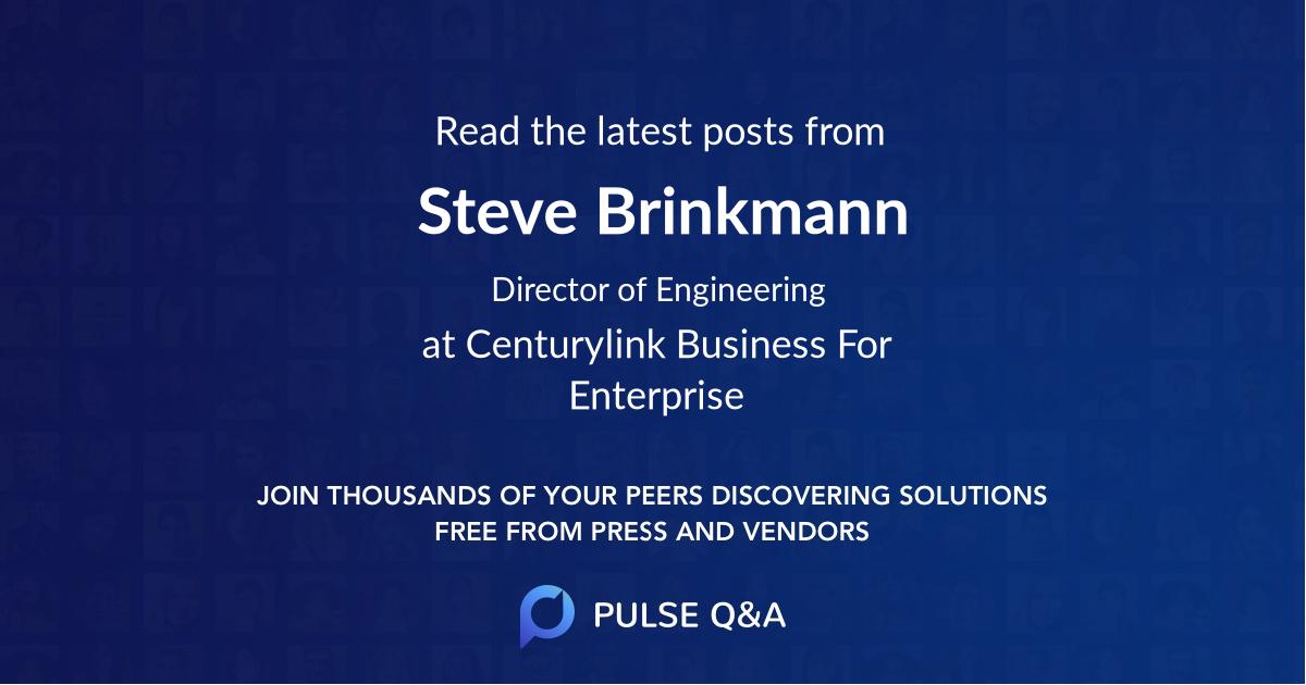 Steve Brinkmann