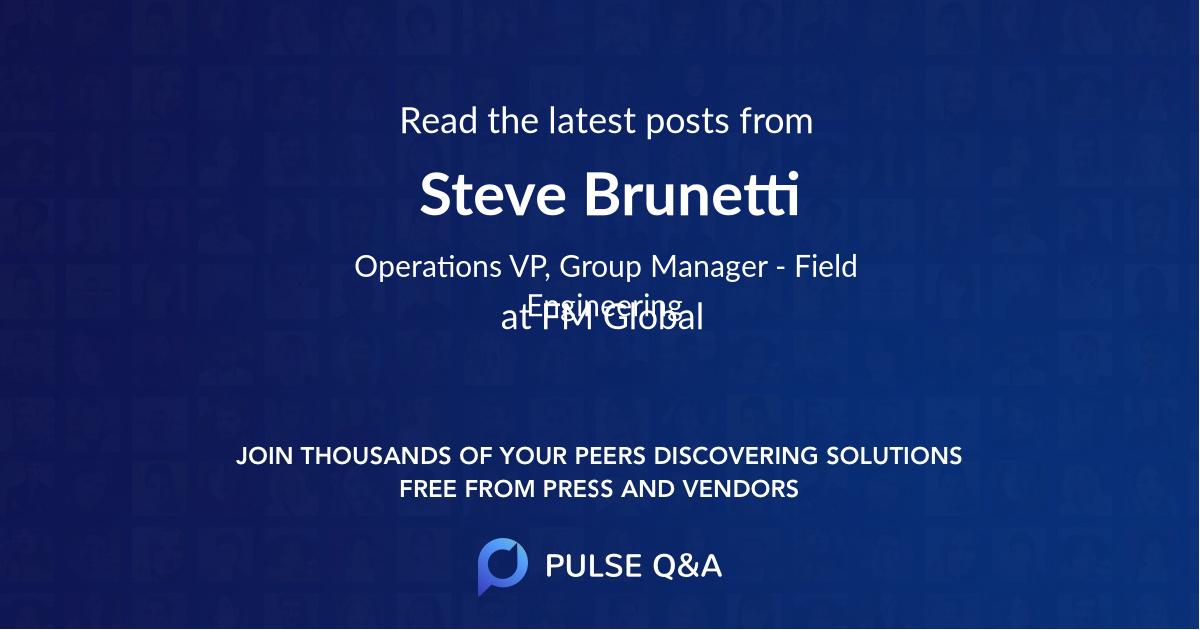 Steve Brunetti