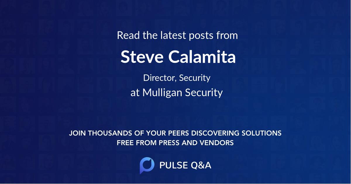 Steve Calamita