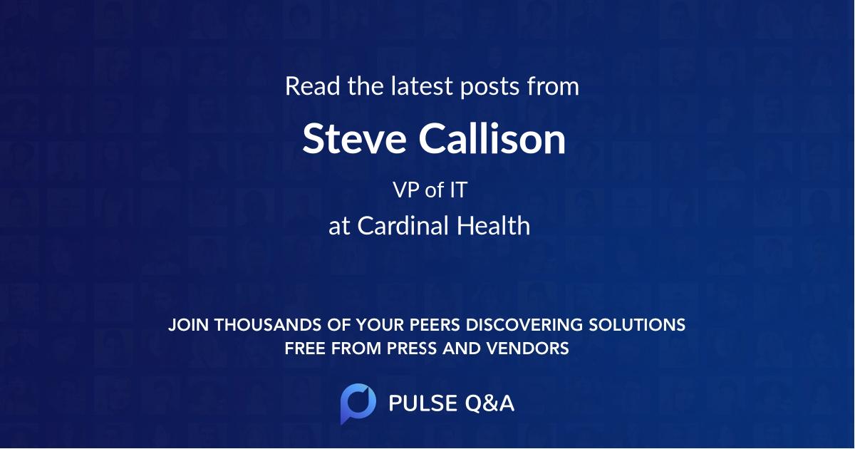 Steve Callison