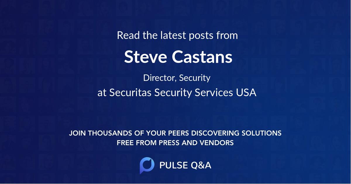 Steve Castans