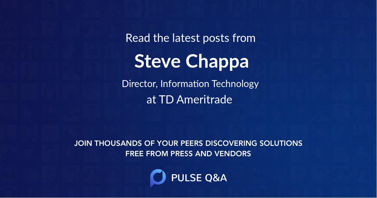 Steve Chappa