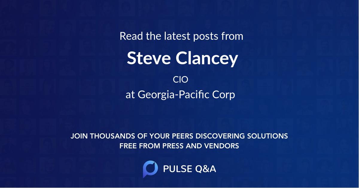 Steve Clancey
