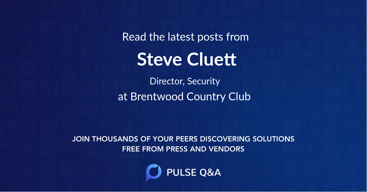 Steve Cluett
