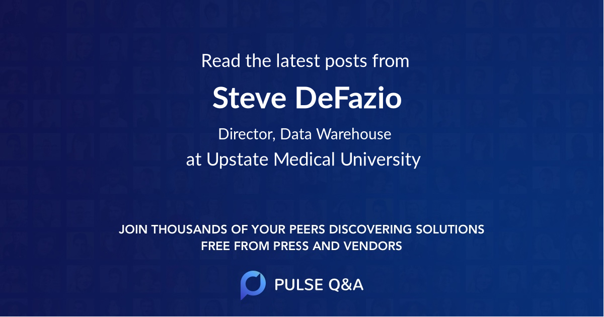 Steve DeFazio