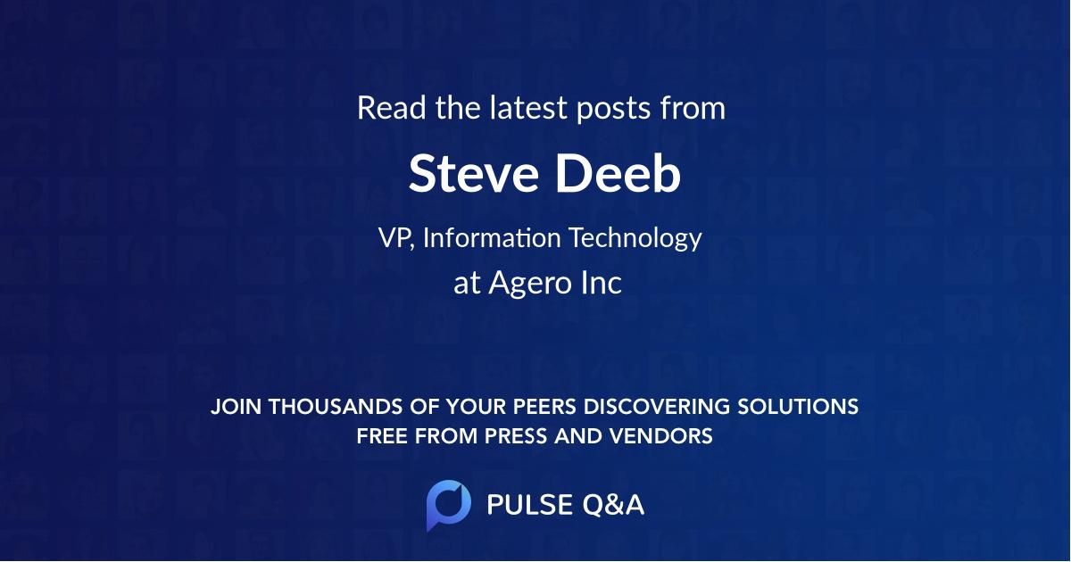 Steve Deeb