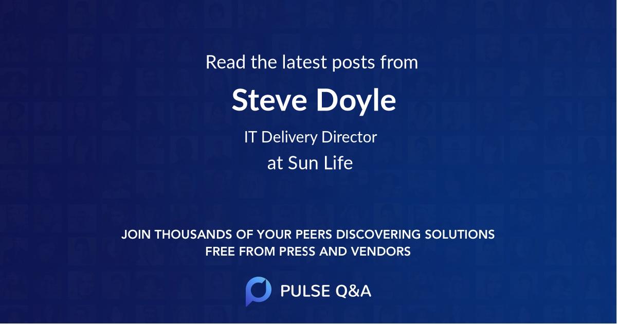 Steve Doyle